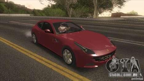 Ferrari FF 2011 V1.0 para GTA San Andreas esquerda vista