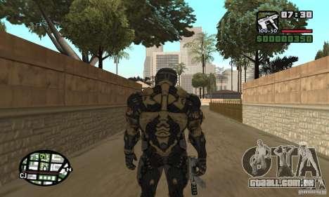 Crysis skin para GTA San Andreas quinto tela