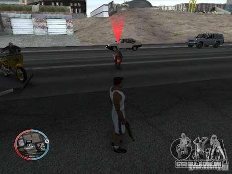 SUPER BIKE MOD para GTA San Andreas quinto tela
