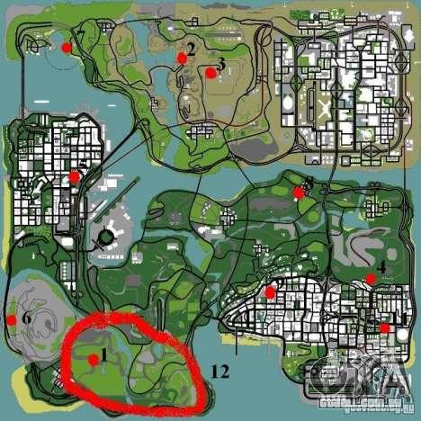 Mutant para GTA San Andreas sexta tela