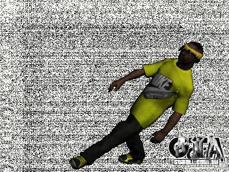 New Ballas Pack para GTA San Andreas quinto tela