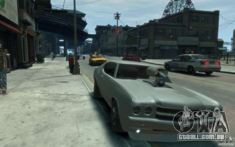 Chevrolet Chevelle SS Tuning 1970 para GTA 4