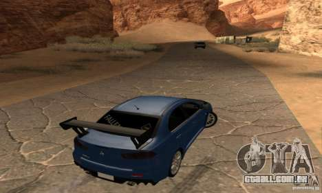 New Drift Zone para GTA San Andreas segunda tela