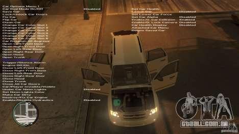 Ford Escape 2011 para GTA 4 traseira esquerda vista