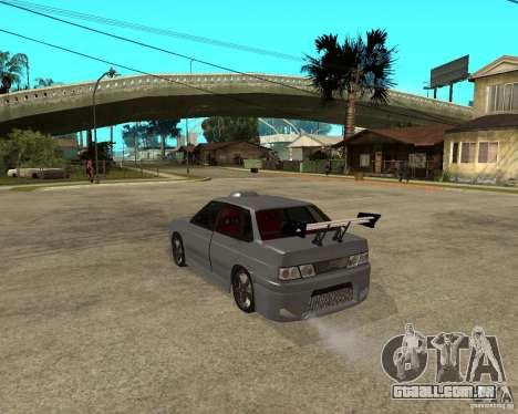 MCC VAZ 2115 para GTA San Andreas esquerda vista