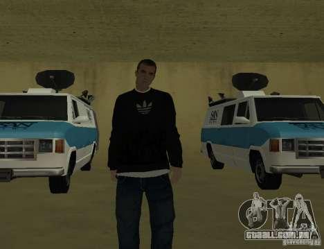 Repórter italiano para GTA San Andreas terceira tela