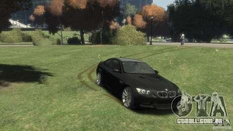 BMW M3 para GTA 4 traseira esquerda vista