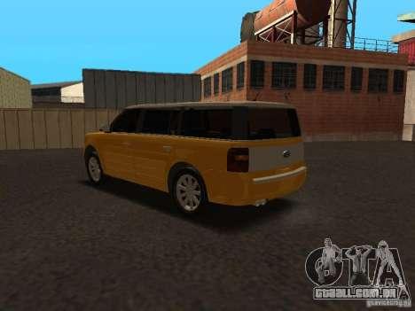 Ford Flex para GTA San Andreas vista direita