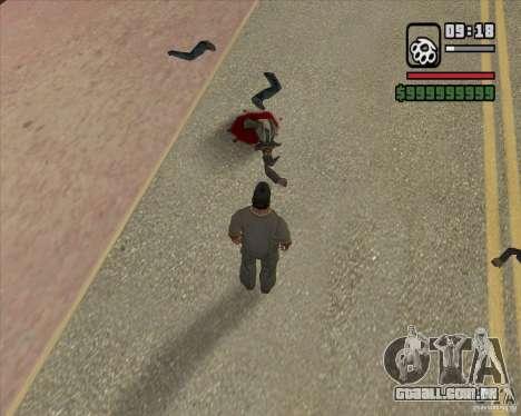 Real Ragdoll Mod Update 2011.09.15 para GTA San Andreas sétima tela
