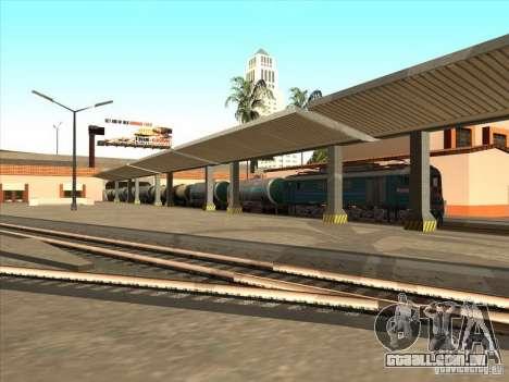 Tanque 57929572 # para GTA San Andreas vista traseira