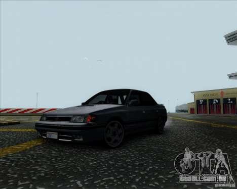 Subaru Legacy RS 1991 para GTA San Andreas vista direita