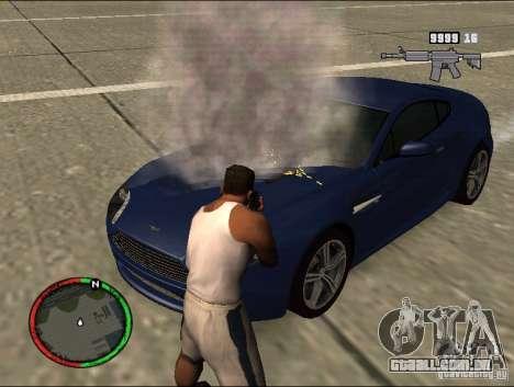 Auto extinção de um extintor de incêndio para GTA San Andreas segunda tela