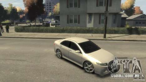 Honda Accord Type-S 2003 para GTA 4 vista direita