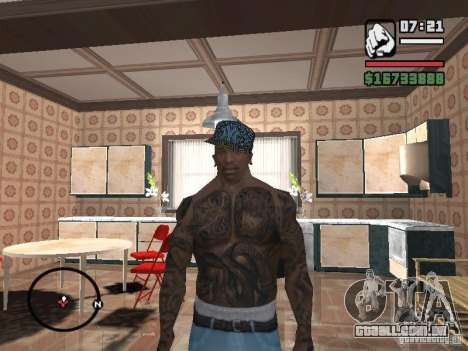 Tampão de Nova York para GTA San Andreas por diante tela