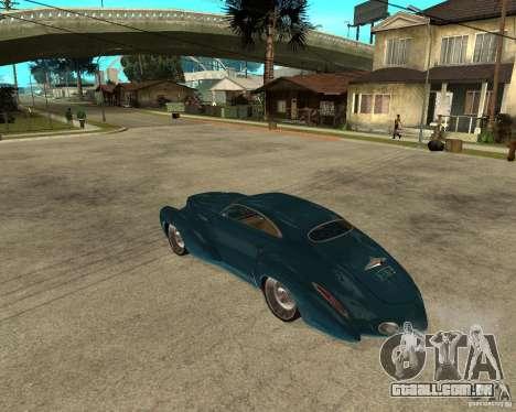 Holden Efijy para GTA San Andreas esquerda vista