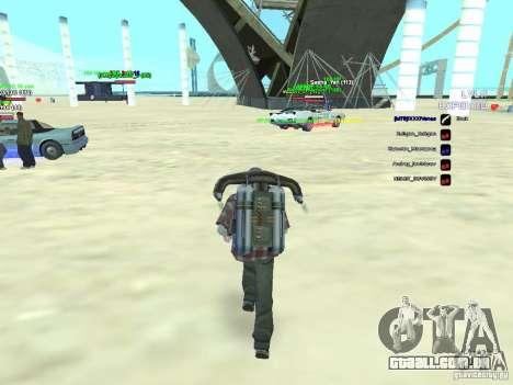 SA:MP 0.3d para GTA San Andreas segunda tela