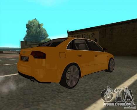 AUDI S4 Sport para GTA San Andreas esquerda vista