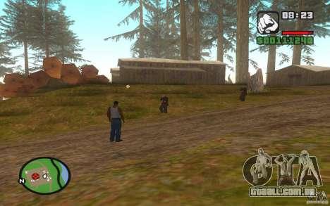 Mortal Kombat para GTA San Andreas segunda tela