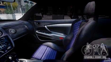 Mitsubishi Eclipse GTS Coupe para GTA 4 vista de volta