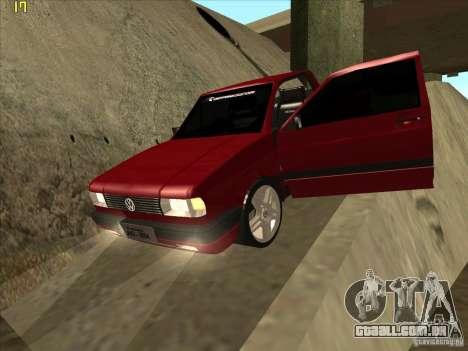 Volkswagen Saveiro Summer para GTA San Andreas vista superior