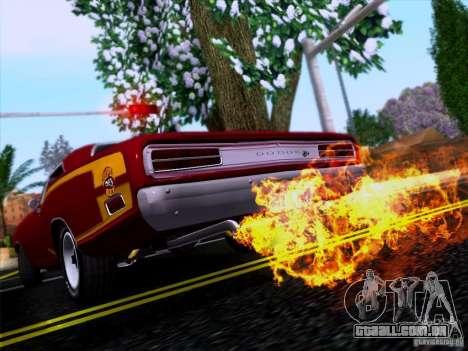 Dodge Coronet Super Bee v2 para GTA San Andreas vista interior