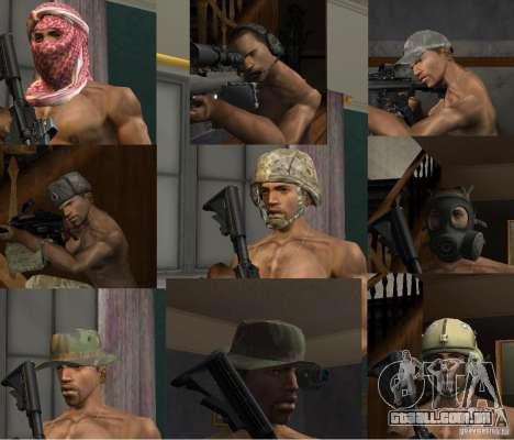Chapéus de Call of Duty 4: Modern Warfare para GTA San Andreas