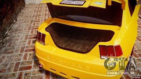 Ford Mustang SVT Cobra v1.0 para GTA 4 vista lateral