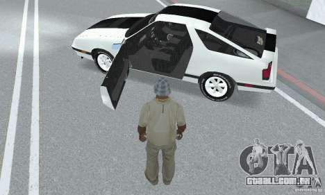 Dodge Daytona Turbo CZ 1986 para GTA San Andreas vista traseira