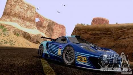Pintura funciona McLaren MP4-12 c Speedhunters para GTA San Andreas