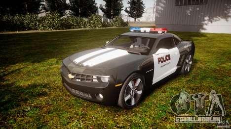 Chevrolet Camaro Police (Beta) para GTA 4