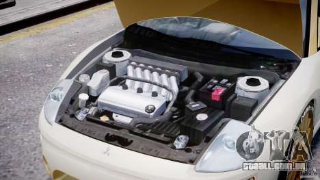 Mitsubishi Eclipse GTS Coupe para GTA 4 vista interior