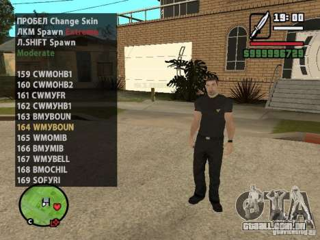 GTA IV peds to SA pack 100 peds para GTA San Andreas