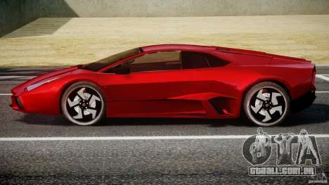 Lamborghini Reventon para GTA 4 vista de volta