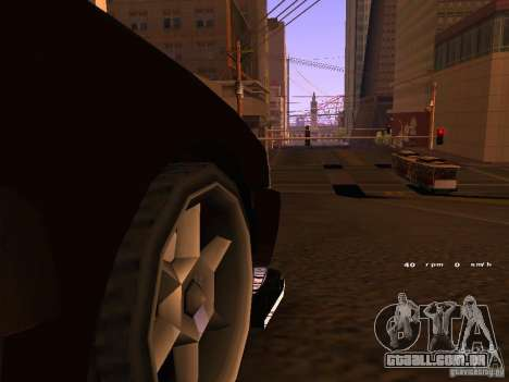 New Sultan para GTA San Andreas esquerda vista
