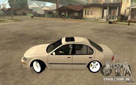 Nissan Maxima 1998 para GTA San Andreas esquerda vista