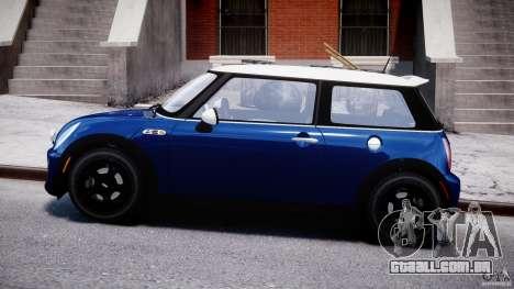 Mini Cooper S 2003 v1.2 para GTA 4 esquerda vista