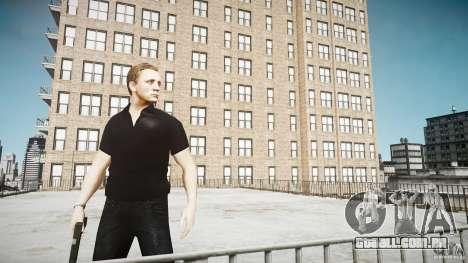 Pele de James Bond para GTA 4 por diante tela
