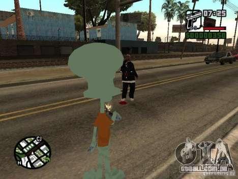 Lula Molusco para GTA San Andreas sétima tela