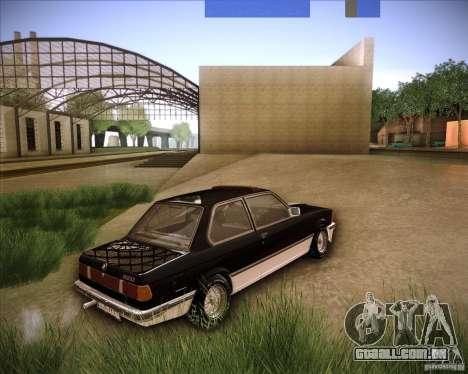 BMW E21 para GTA San Andreas esquerda vista