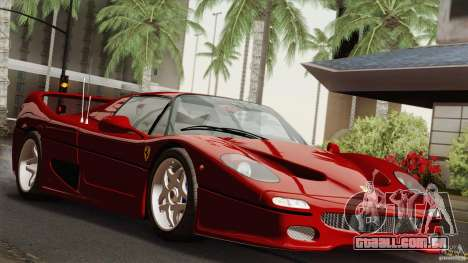 Ferrari F50 v1.0.0 Road Version para GTA San Andreas