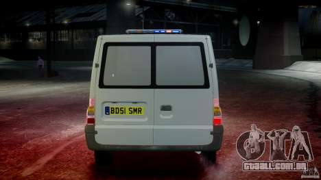 Ford Transit Polish Firetruck [ELS] para GTA 4 interior