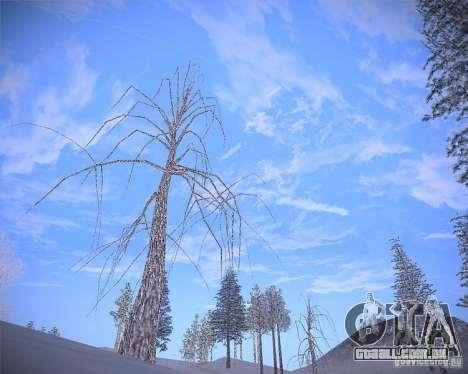 Real Clouds HD para GTA San Andreas quinto tela