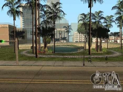 Glen Park HD para GTA San Andreas por diante tela