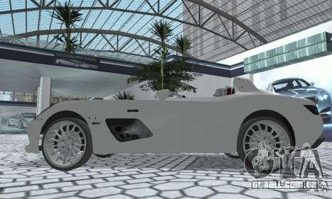 Mercedes-Benz SLR Moss 2008 para GTA San Andreas vista direita