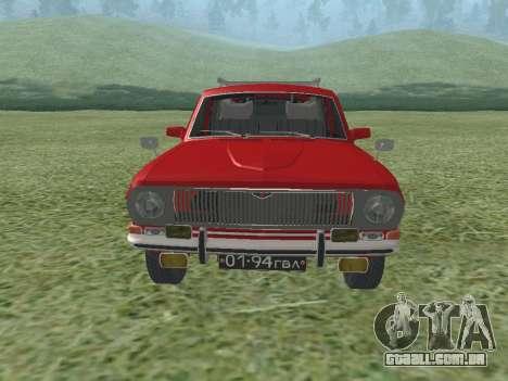 Volga GAZ-24-02 para GTA San Andreas esquerda vista