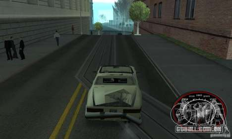 Speedo Skinpack FLAMES para GTA San Andreas segunda tela