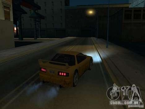 La Villa De La Noche v 1.1 para GTA San Andreas por diante tela