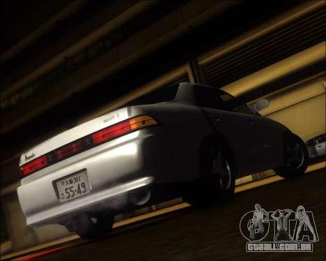 Toyota Mark II GX90 v.1.1 para GTA San Andreas traseira esquerda vista