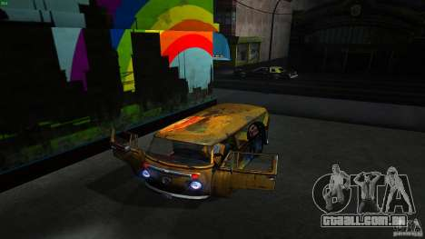 Comb do Bob and Rastaman para GTA San Andreas vista interior