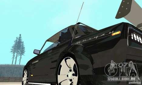 Tunning de fantasia arte VAZ 2106 para vista lateral GTA San Andreas